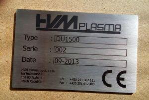 Nerezový štítek - laserové gravírování - černé provedení - rychlá výroba - kvalitní provedení