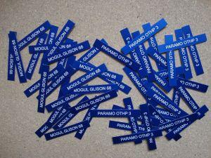Eloxované hliníkové gravírované štítky