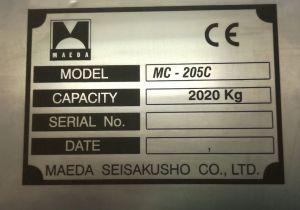 Nerezový výrobní štítek
